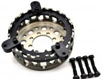 Ducati leichter Kupplungskorb + Haltewerkzeug 12 Zahn hartcoatiert