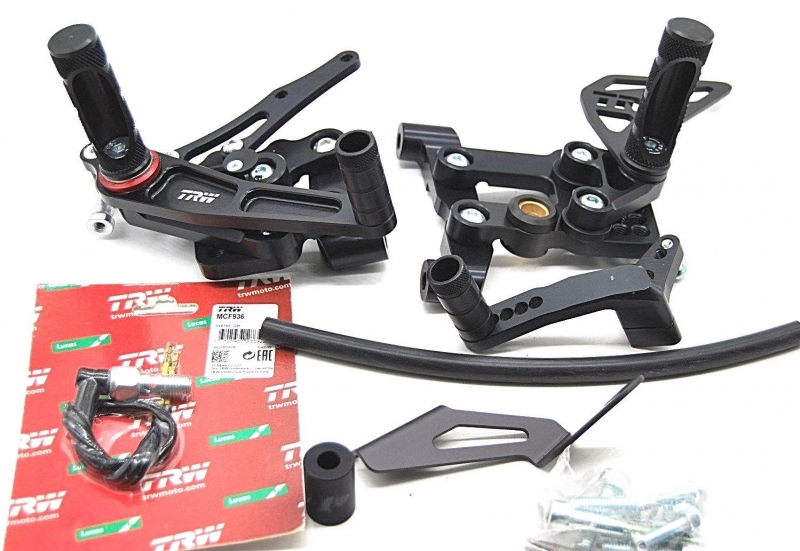 Rastenanlage Ducati 1199 1199s  komplett mit ABE !