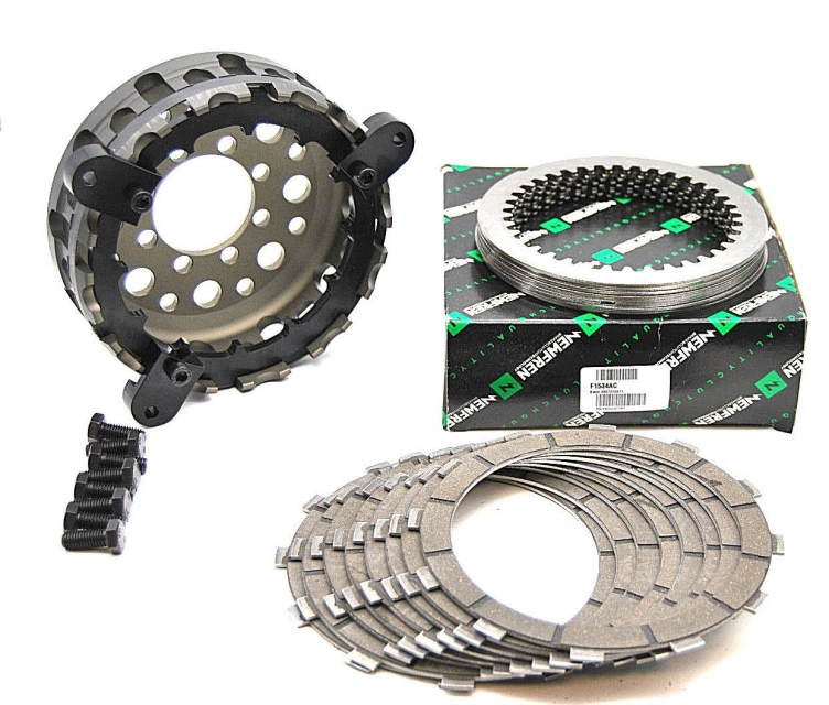 Ducati Kupplungsbeläge Reib- und Stahlscheiben mit Korb /NEWFREN