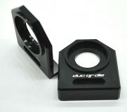 NEU Ducati M1000 u.a.  Kettenspanner Achsplatte Schwinge Schutz black