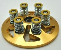 Kupplungsdruckplatte Druckplatte  in verschiedenen Farben Federn Teller