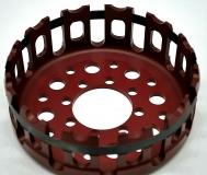 Ducati leichter Kupplungskorb 12 Zahn hartcoatiert  ROT  red