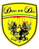 duc or die     Antihopping Kupplung 6-Federn einstellbar, inkl. Korb, Druckplatte rot
