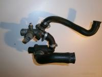 Ducati 916 SP Thermostat mit Wasserschläuchen